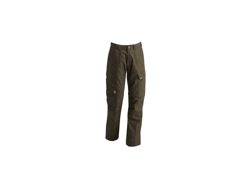 Kalhoty Ruaha Zip-Off Trousers Fjällräven vel. 50 - Dark Olive