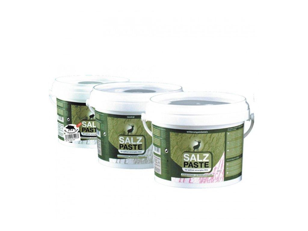 Solná pasta kouřové aroma 2kg - kbelík