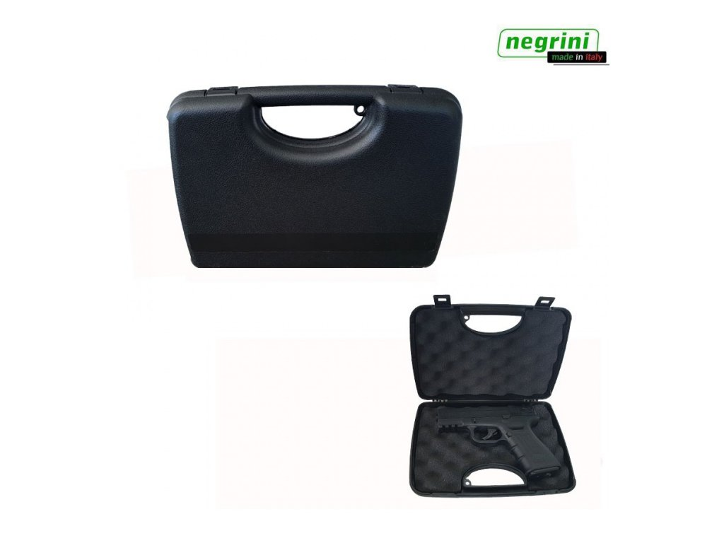Plastový kufr na pistoli - Negrini 2038