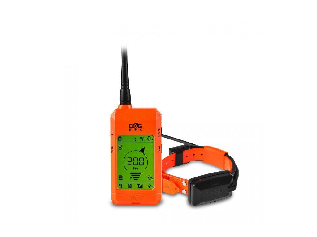 Vyhledávací zařízení DOGTRACE DOG GPS X20 orange