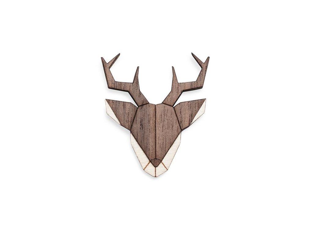 0 deer brooch cover