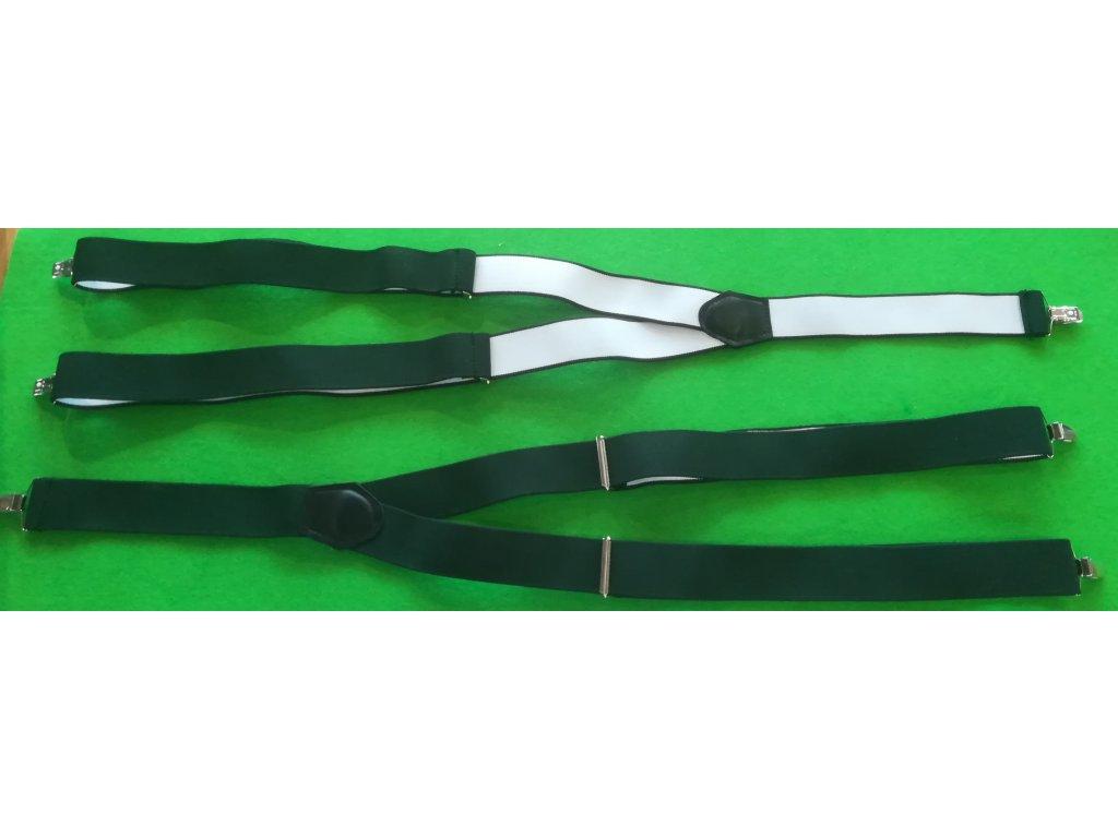 Myslivecké šle zelené