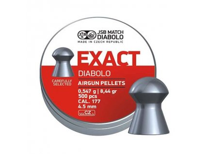 Diabolo JSB Exact 500 ks cal. 4,52 mm