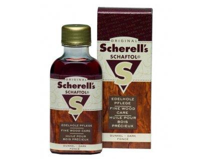 Pažbový olej - SCHAFTOL - tmavohnědý