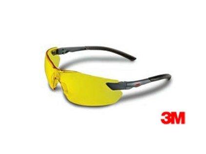 Žluté střelecké brýle 2822