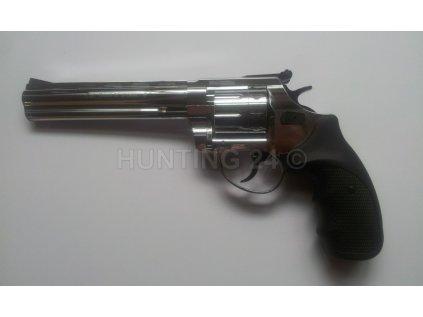 """Flobertkový revolver Zoraki Atak Streamer R1 4,5"""", cal. 6mm, chrom"""