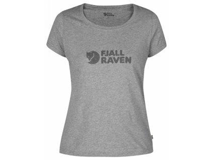 Logo T-Shirt W Fjällräven Grey vel. XL