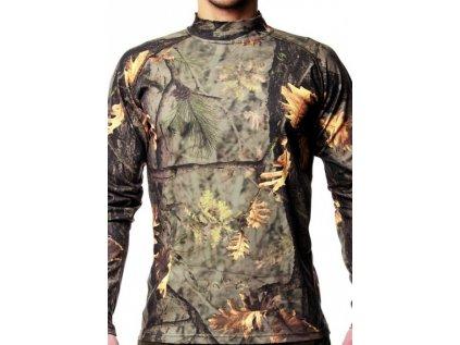 Lovecké triko s dlouhým rukávem Hillman T-Shirt Long Sleeve (kamufláž), 4XL, 3XL