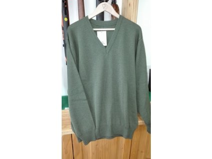 GL myslivecký svetr KEVIN vel.54 zelený