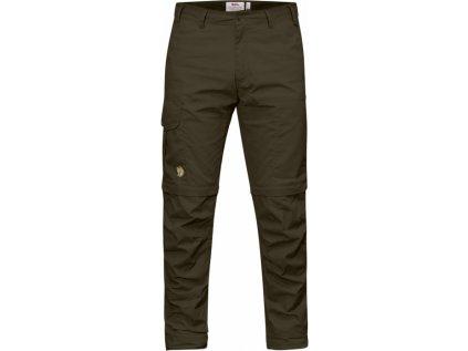 Kalhoty Karl Pro Zip-off Trousers - Dark Olive, velikost 52