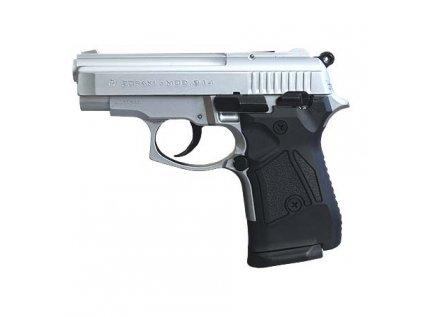 Plynová pistole Zoraki 914 matný chrom