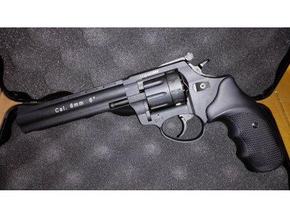 """Flobertkový revolver Zoraki Atak Streamer R1 6"""", cal. 6mm, černá"""