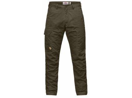 Kalhoty Fjällräven Karl Pro Hydratic Trousers - Dark Olive - Velikost 60