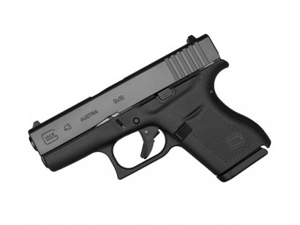 Pistole Glock 43 r. 9mm luger