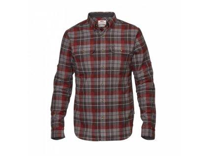 Košile Fjällräven singi heavy flannel shirt - Dark Grey, velikost XXL