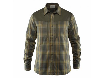 KOŠILE FJÄLLRÄVEN SINGI Pro Shirt LS M, barva Deep Forest, vel. XXL