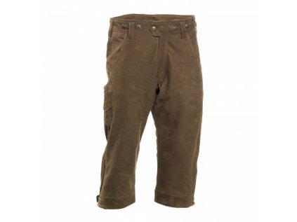 3/4 kvalitní kalhoty ze silné buvolí kůže