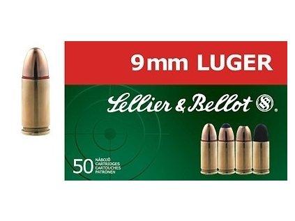 9mm Luger FMJ 8g