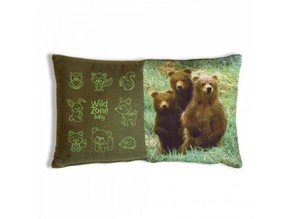 Dětský polštář WildZone - Medvíďata