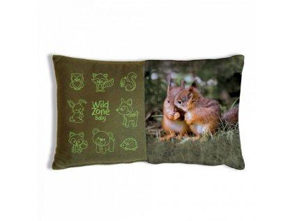Dětský polštář WildZone - veverčata