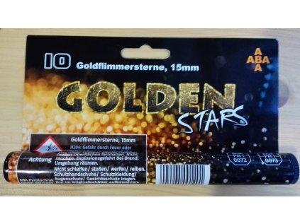 Světlice pro plynové zbraně Golden Stars - tuba 10 ks