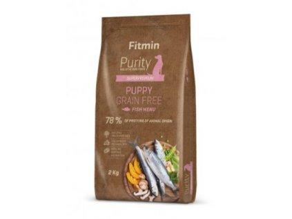 Fitmin Purity Puppy Fish Grain Free kompletní krmivo pro psy