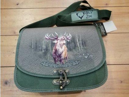 Lovecká brašna WildZone - podkova, motiv jelen