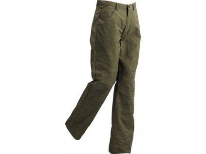 Kalhoty Clyde Trousers Fjällräven - Dark Olive