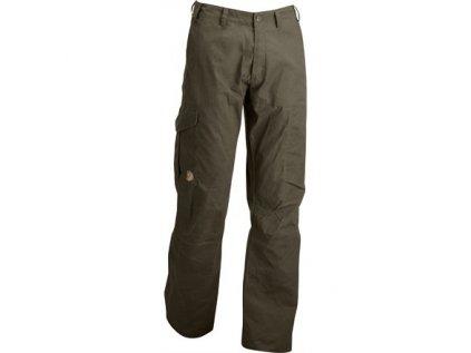 Kalhoty Karl Trousers Fjällräven - Dark Olive vel. 52