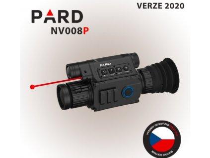 Zaměřovač PARD NV008P verze 2020 + 16GB MicroSD karta + Smart nabíječka  + 16GB MicroSD karta + Smart nabíječka