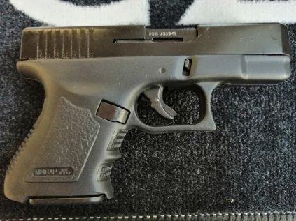Plynová pistole Bruni MiniGAP černá, cal. 9mm
