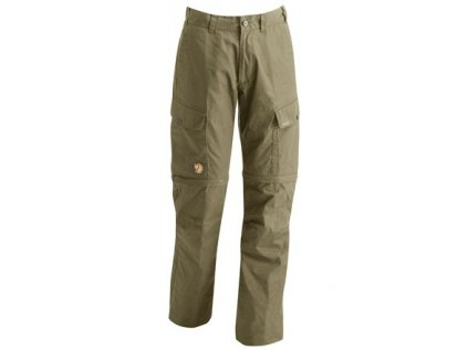 Kalhoty Ruaha Zip-Off Trousers Fjällräven vel 50 - Light Khaki