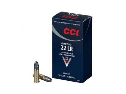 náboj CCI .22LR Quiet 40GR LRN