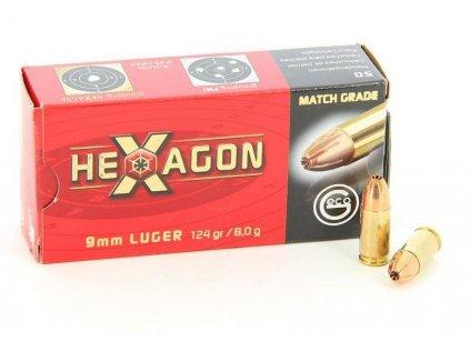 Geco 9mm Luger Hexagon 124 gr/8g