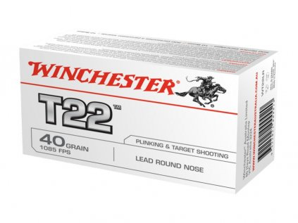 Winchester .22LR T22 Target 40grs