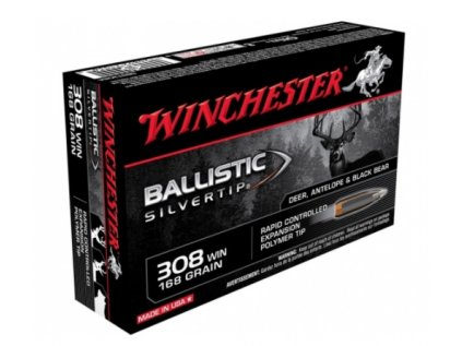 Winchester 308 Win. Ballistic Silvertip 10,89g/168gr