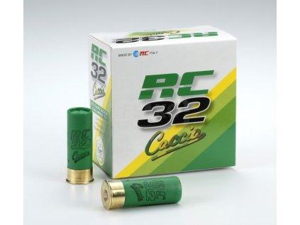 Brokové náboje 12/70 RC Caccia 32 g 3,7 mm