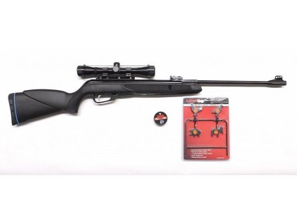 Vzduchovka GAMO BLACK 1000 IGT 16J ráže 4,5mm SET + 4x32 puškohled