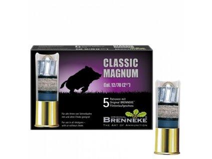 BRENNEKE Classic Magnum 12/70, 31,5g/490 grs