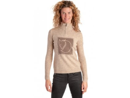 Allegro FJALLRAVEN Louise Sweater Wool Sand Dámský vel.S