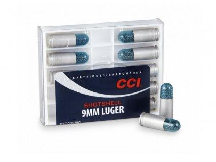 9mm luger shotshell