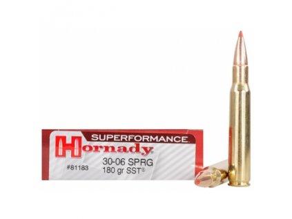 naboj kulovy hornady superformance 30 06 sprg 180gr sst