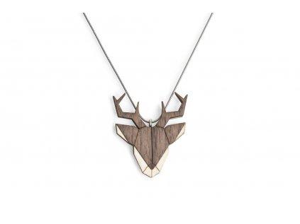 0 deer pendant
