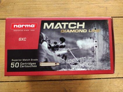 Kulový náboj Norma 6mm XC Diamond Line 6,8g 105grs