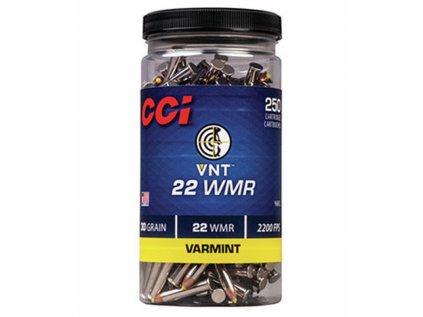naboj kulovy cci varmint 22 wmr 30gr vnt polymer tip baleno po 250ks
