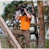 Tričko s potiskem divočák oranžová
