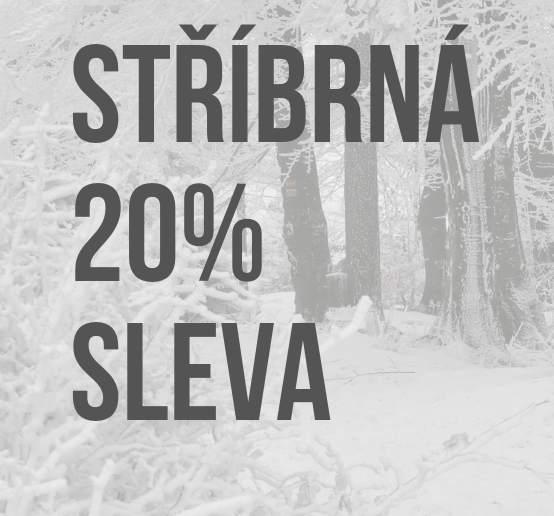 STŘÍBRNÁ 20% SLEVA... ve dnech 15. - 16.12. 2018
