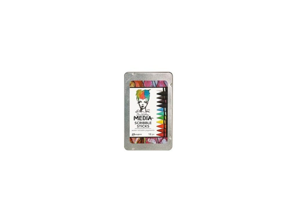 Dina Wakley - SCRIBBLE STICKS - akvarelové voskovky