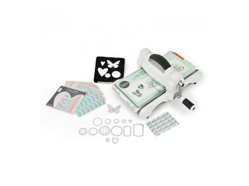Sizzix - Big Shot Machine STARTER KIT / bílo-šedý