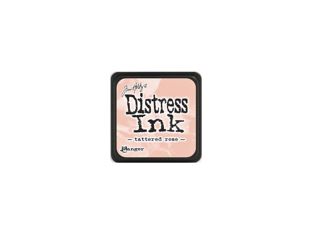 Distress Ink - TATTERED ROSE / mini - razítkovací barva